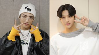 ATEEZ's WooYoung & HongJoong Mention Their Favorite Groups In Drama 'Imitation'