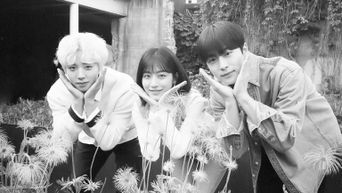 Actors Of 'At A Distance, Spring Is Green' Park JiHoon, Kang MinAh, & Bae InHyuk Take Cute Picture Together