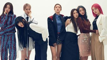 OH MY GIRL For SINGLES Magazine June Issue