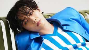 Yoo SeungHo For ELLE Korea Magazine May Issue Behind Shooting Scene - Part 2