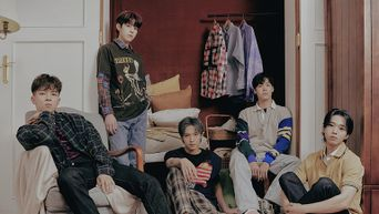 N.Flying 1st Album 'Man On The Moon' Jacket Poster