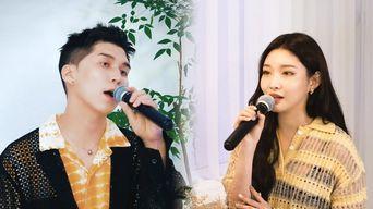 ChungHa x Cold - 'My Lips Like Warm Coffee' Remake Live Clip