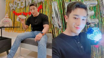 WonHo Adorably Introduces His Own Lightstick On WENEE Day