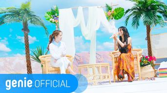 SOLAR, MOONBYUL of MAMAMOO - 'Promise U' Official M/V