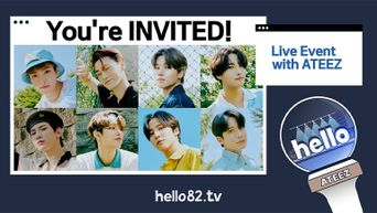 hello82 TV Rolls Out Combination Of Original Content,  Exclusive Merchandise And a Live Event For ATEEZ Special Season Songs