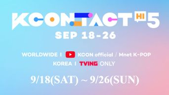 DREAMCATCHER, Highlight, JO1, KIM JAE HWAN, RAIN, THE BOYZ, TO1, and WOODZ Are Set To Join 'KCON:TACT HI 5' 2nd Lineup