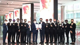 Monster Rookie Group 'OMEGA X' Is The New Face Of Korean Trade Center