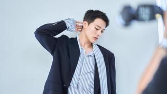 Jang KiYong For Singles Magazine September Issue Behind-the-Scene