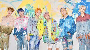 MEGAMAX Debut Album 'Painted÷LOVE:)' Official Photo