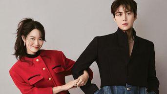 [Update] Shin MinA X Kim SeonHo For ELLE Korea Magazine September Issue