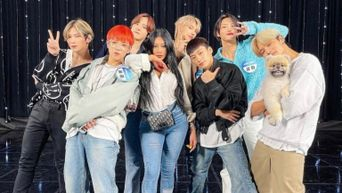 ATEEZ And Jessi Get Along Like Peanut Butter And Jelly In Latest 'Showterview' Episode