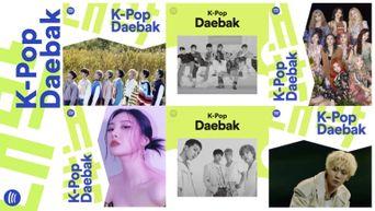 Spotify's Flagship K-pop Playlist  'K-Pop Daebak' Celebrates Its 7th Anniversary