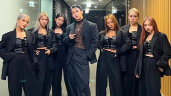 WonHo Shows Love For 'Noona' Honey J And Her Crew HOLYBANG On Her Instagram
