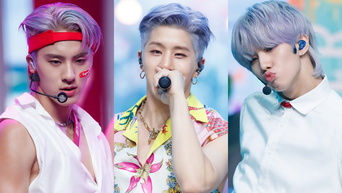 8 K-Pop Male Idols Who Look Handsome In Purple Hair (Part 1)