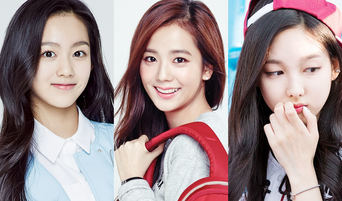 SM-YG-JYP New Girls Who Come Up For a Visual Member