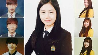 13 Of Yearbook Photos From 97-Line Idols