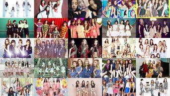 Average Age of K-Pop Idol Girl Groups 2016