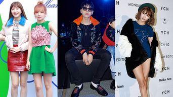 21 Best Dressed K-Pop Idols During Seoul Fashion Week S/S 2017