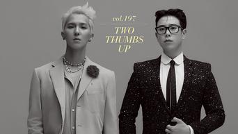 WINNER's MiNo & Block B's P.O. For 1st look Magazine Vol.197