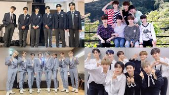 8 K-Pop Male Groups With Members Who Had Appeared From Mnet