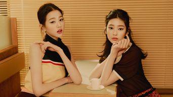 IZ*ONE's Jang Wonyoung & Kim MinJu For ELLE Korea Magazine February Issue