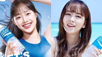 A Look At The Models Of 'POCARI SWEAT' Korea Over The Past 5 Years