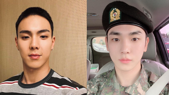 4 Idols Who Still Looked Good In Their Buzz Cuts For Their Military Service