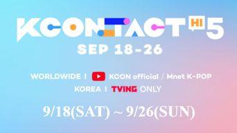 3rd Lineup For 'KCON:TACT HI 5': AB6IX, ATEEZ, ITZY, Park JiHoon, Stray Kids, Weeekly, and WEi