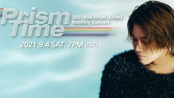 KIM HYUN JOONG Monthly Concert 'Prism Time, BLUE': Ticket Details