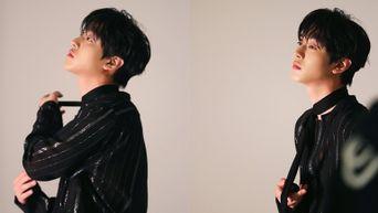 Ahn HyoSeop For ELLE Korea Magazine September Issue Behind-the-Scene - Part 1