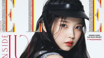 IU For ELLE Korea Magazine November Cover Issue