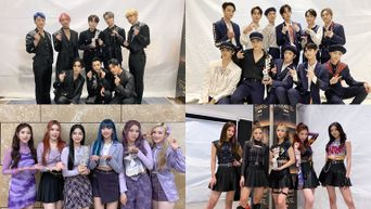 K-Pop Idols Took The Stage Of The 2021 TMA The Fact Music Awards