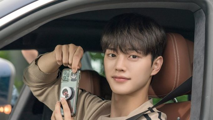 song kang, nevertheless, driving, handsome