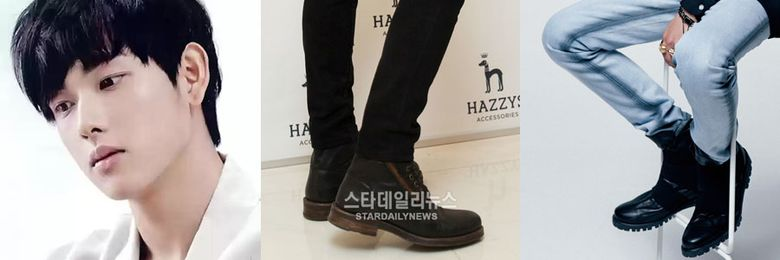10 Male Idols Obsessed With Wearing Shoe Pads