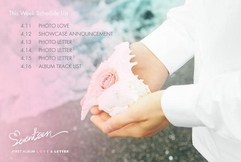 """Teaser )) SEVENTEEN's First Full Album - """"Love & Letter"""""""