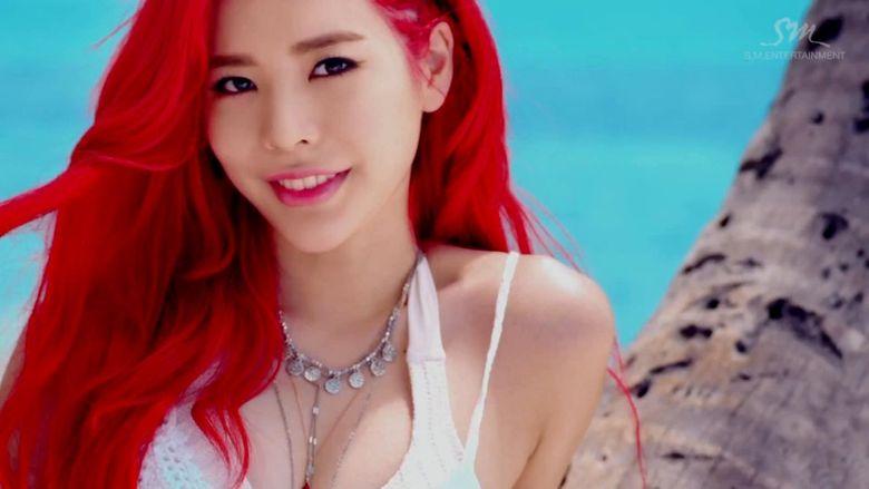18 K-Pop Idols Who Slay the Cherry Red Hair