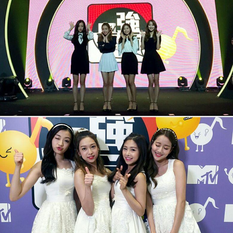APRIL Wins Over Taiwan Fans Through Various MTV Music Shows