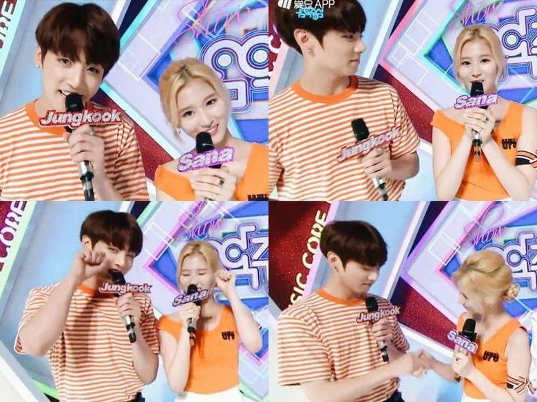 K-Pop Couple Fantasy: TWICE's Sana and BTS's JungKook