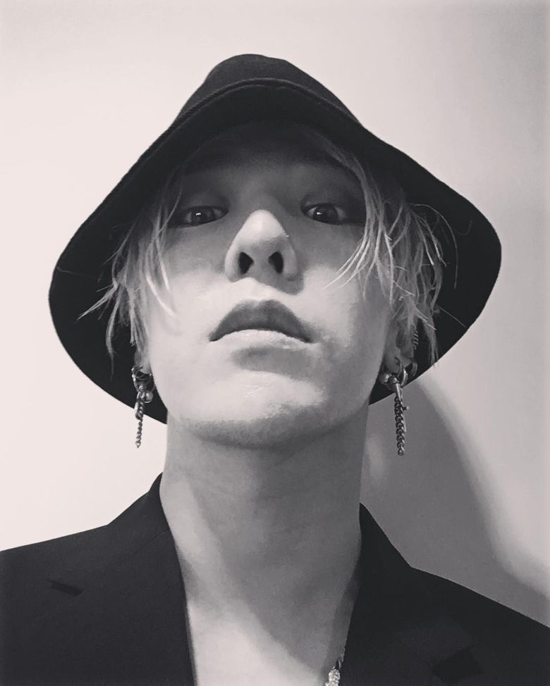 G-Dragon Reveals His New Year's Resolution