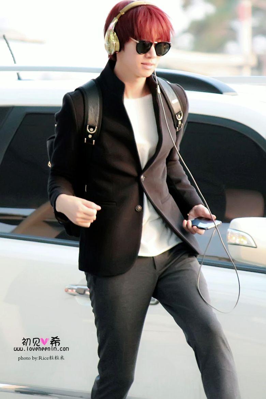 Idol Airport Fashion 101: Kim HeeChul of Super Junior