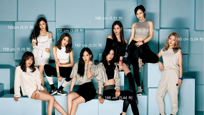 Who Are The Tallest And Shortest SNSD?
