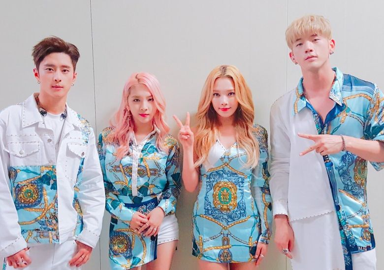 Work of Art Shown in K.A.R.D's Stage Outfits Made by Fashion Coordinator