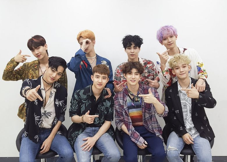 Ranking of TOP 20 Boy Groups Followed on V App: August 15th