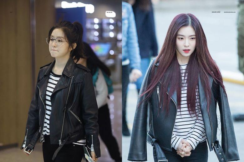Airport Fashion 101: Irene of Red Velvet