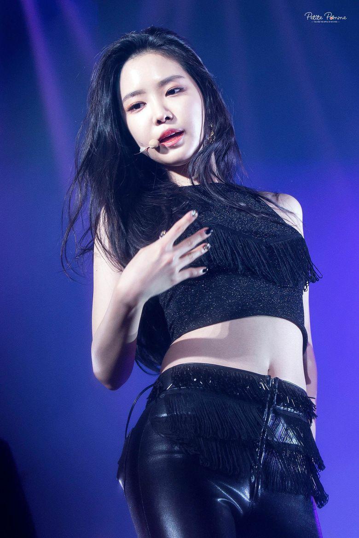 Female K-Pop Idols Wearing All Black Outfits