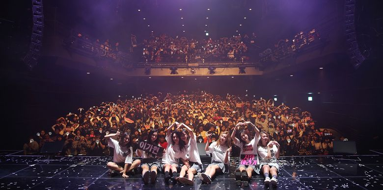 DREAMCATCHER Held their First Concert in Seoul and Announced Fanclub Name