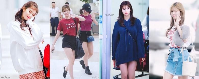 Airport Fashion 101: Sana Of TWICE