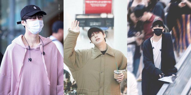 Airport Fashion 101: HyungWon of MONSTA X