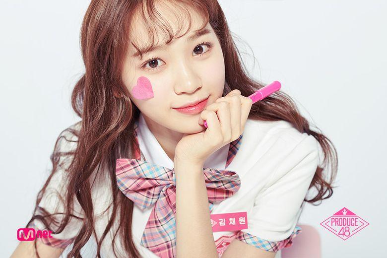 "Netizens See The Resemblance Of ""Produce 48"" Kim ChaeWon With Ex-AKB48's Nagao Mariya"