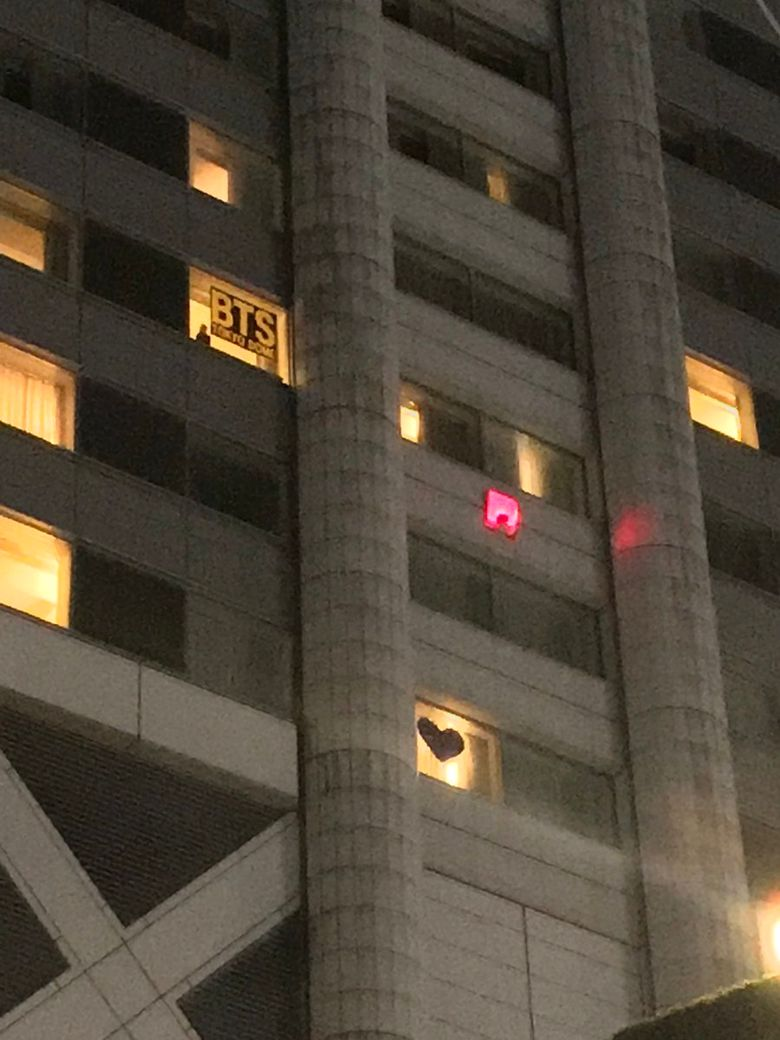 ARMY Lights Up Hotel Rooms For BTS Amidst Japan Controversy To Show Support